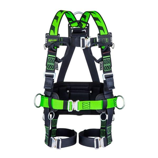 Miller H-Design Duraflex BodyFit 2pt - Hebillas Auto + 2 bucles cinta